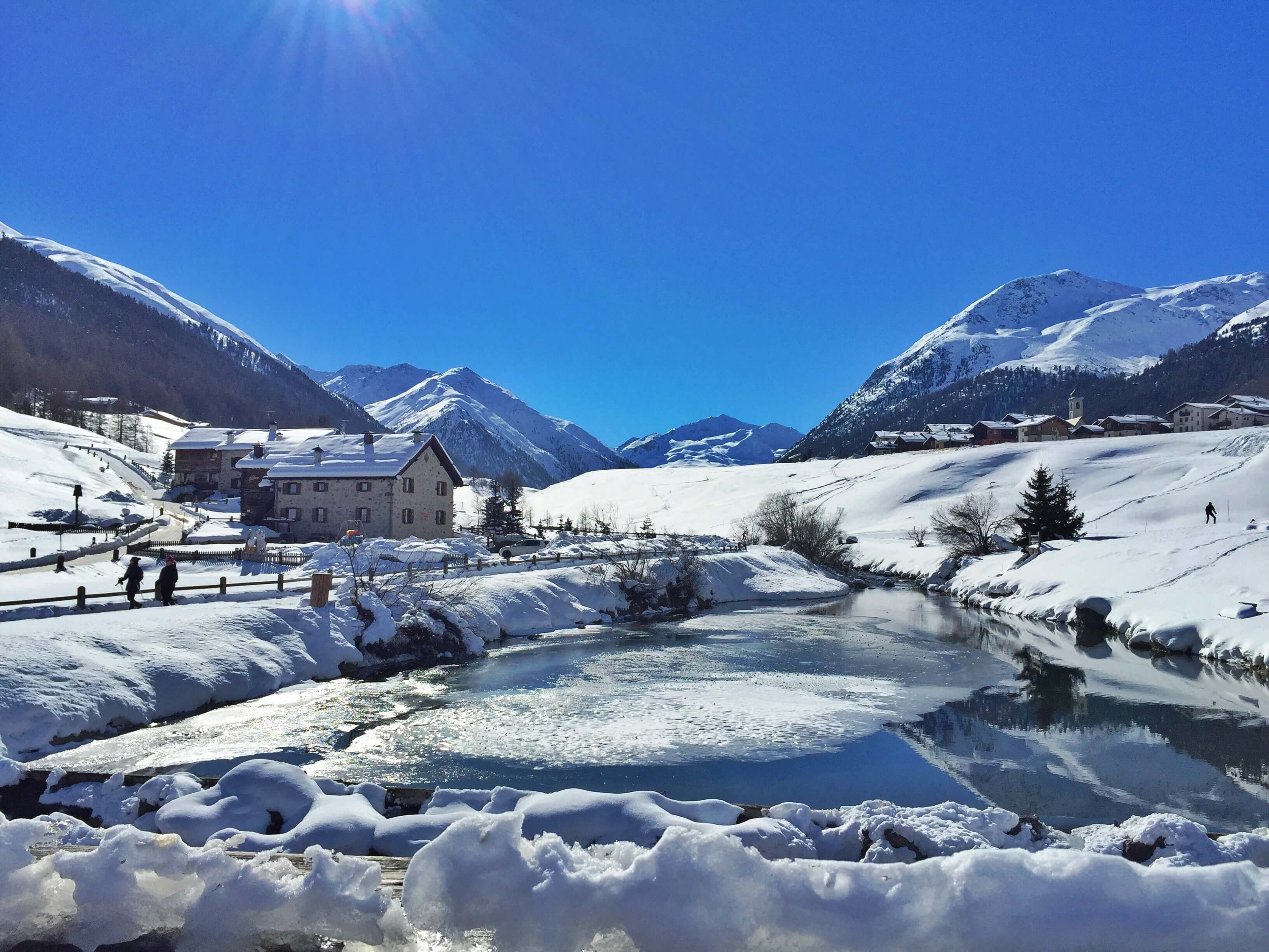 Winter activities in Livigno