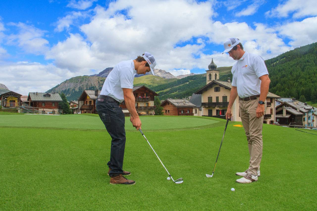 Play golf in Livigno