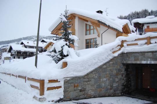 Winter im Chalet Monteneve