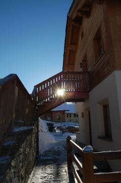 Chalet Monteneve, paesaggio fiabesco